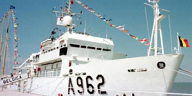 Remplacement du navire de recherche océanographique BELGICA 526cc110
