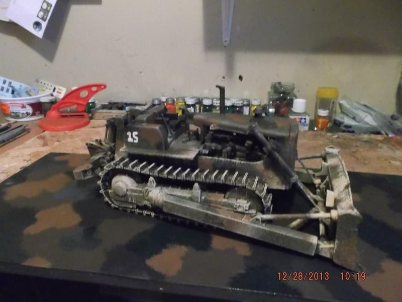 bulldozer d8h u.s.army millitaire. Dscf2114