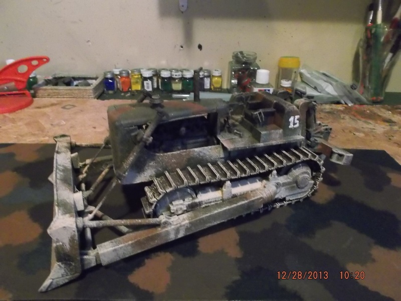 bulldozer d8h u.s.army millitaire. Dscf2117