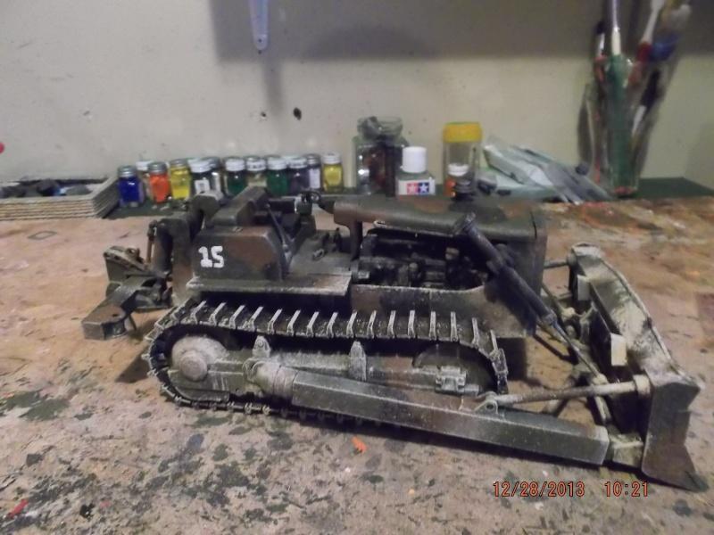 bulldozer d8h u.s.army millitaire. Dscf2118