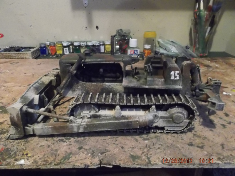bulldozer d8h u.s.army millitaire. Dscf2119