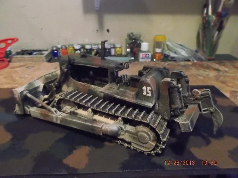 bulldozer d8h u.s.army millitaire. Dscf2120