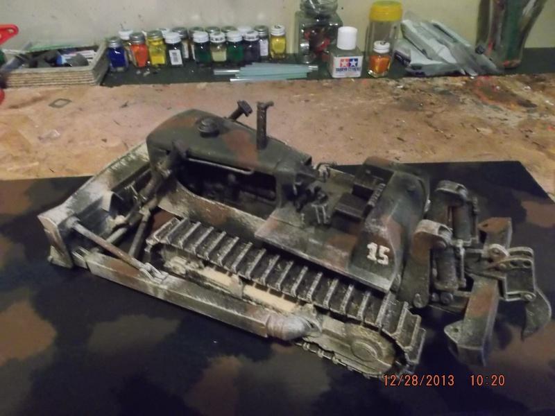 bulldozer d8h u.s.army millitaire. Dscf2121