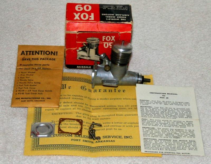 1959 Fox Rocket .09 Vintag10
