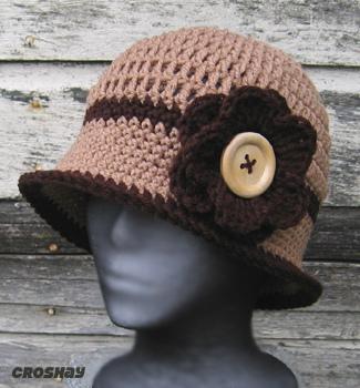قبعات كروشي جميلة 14955910