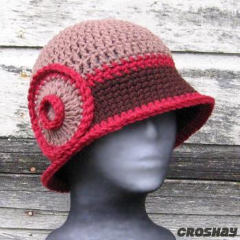 قبعات كروشي جميلة 16015010