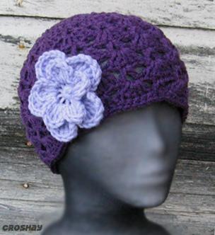 قبعات كروشي جميلة 16507910