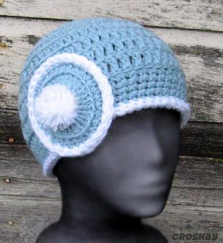 قبعات كروشي جميلة 16611410