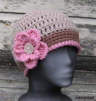 قبعات كروشي جميلة 16797910