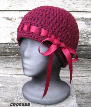 قبعات كروشي جميلة 16840410