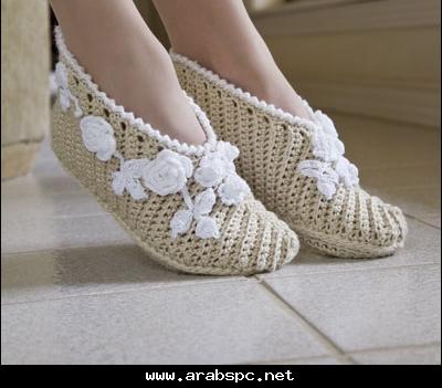 احذية كروشي روووووووووووعة 63618310