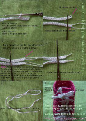 بالصور طريقة عمل احذية كروشيه للاطفال Img_1318