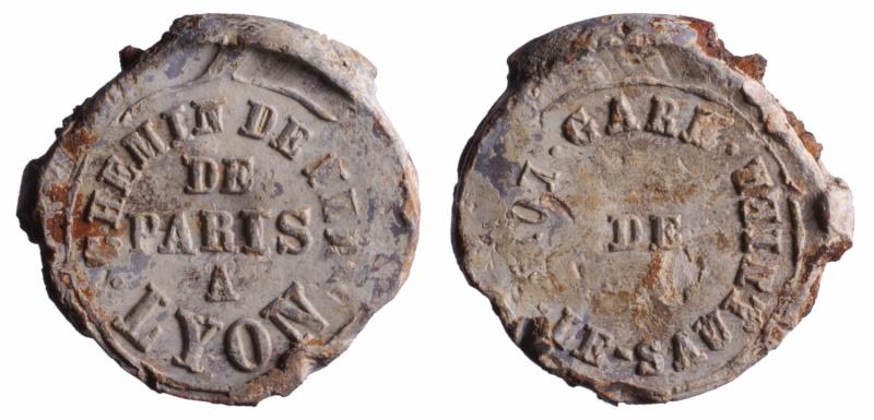 h) Compagnie de chemin de fer de Paris à Lyon 1846 à 1857 D118210