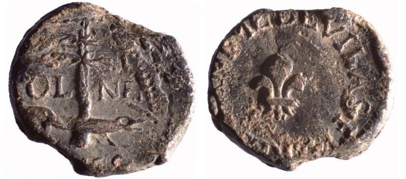 Les plombs de soyeux de Nîmes. D11910