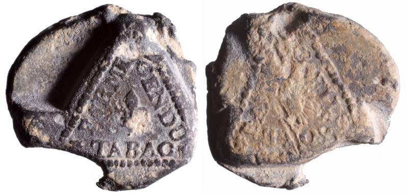 1) Les plombs de tabac de Guillaume Fils adjudicataire de la ferme de 1715 à 1718 D155610
