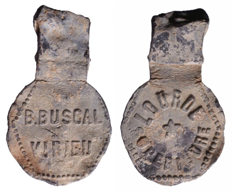 Dept:01 Ain Ciment B. Buscal à Virieu le Grand D260110