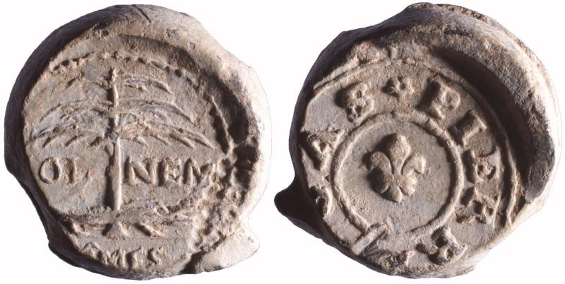 Les plombs de soyeux de Nîmes. D66810