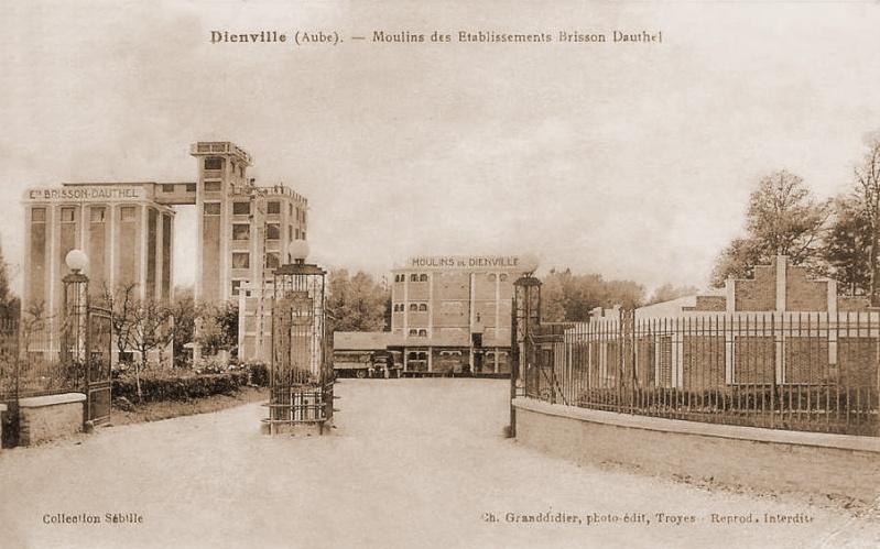 Dt 10: Aube Moulin de Dienville Ets Brisson-Dauthel Dienvi10