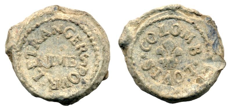 Les plombs de soyeux de Nîmes. For18210