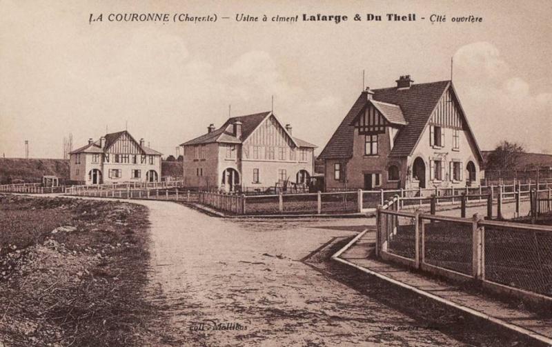 Dept:16 Charente Ciment La Couronne Cimenterie Lafarge  La_cou11