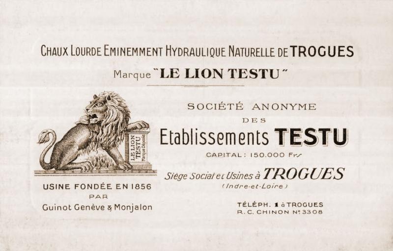 Dept:37 Indre-et-Loire, Usine à chaux hydraulique Testu, à Trogues Trogue11