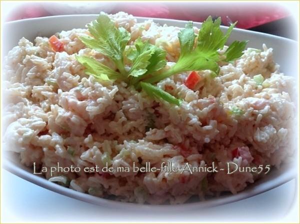 Salade de riz aux crevettes de Jacqueline Image535
