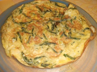 Omelette aux asperges sauvages Omelet12