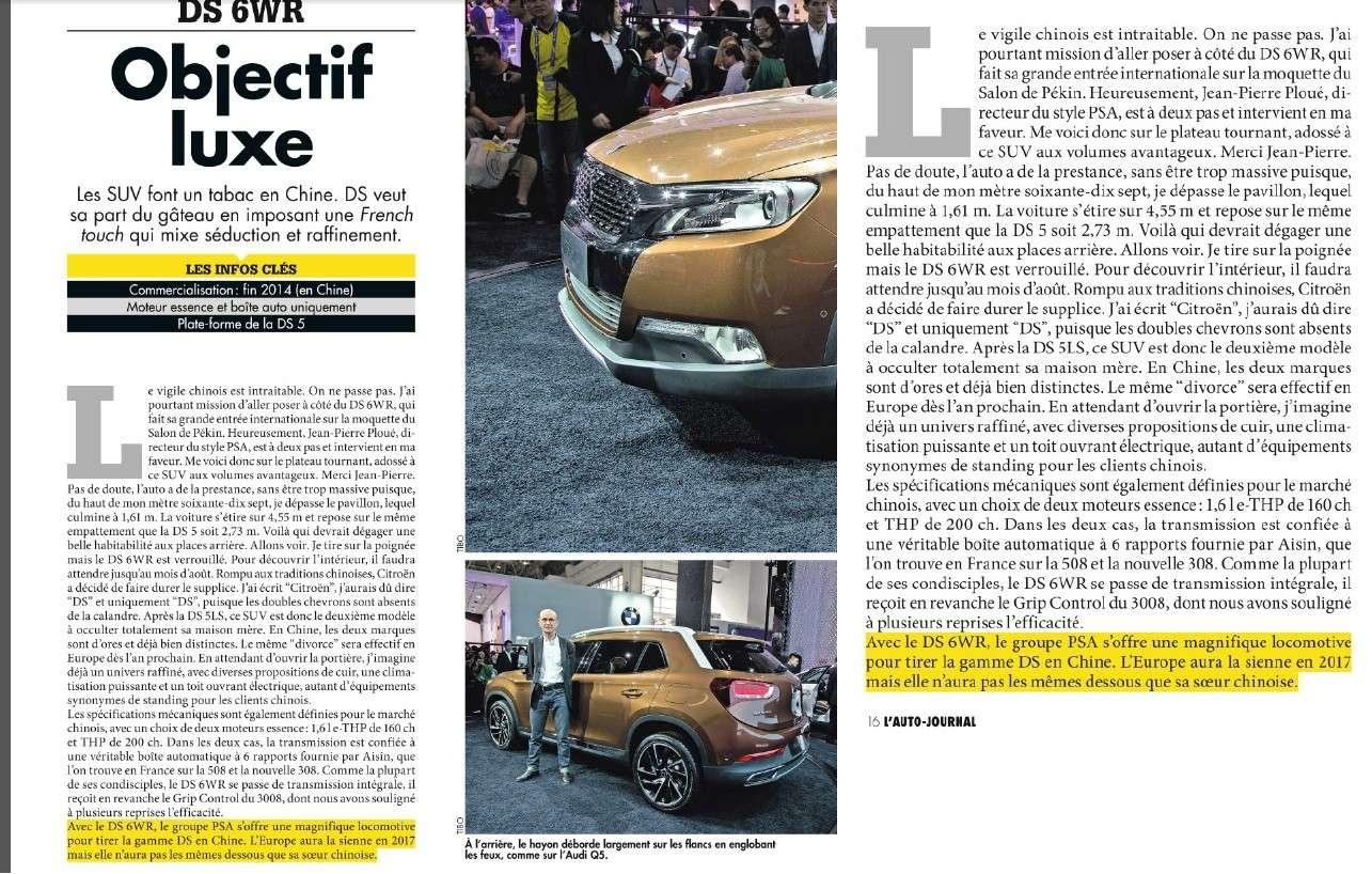 [ACTUALITE] Revue de Presse Citroën - Page 12 310