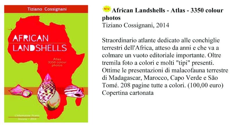 Nouveauté éditoriale : Cossignani, 2014 - AFRICAN LANDSHELLS I_libr10