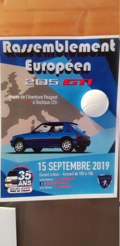 Les 35 ans de la 205 GTI le 15 sept 2019 20190610