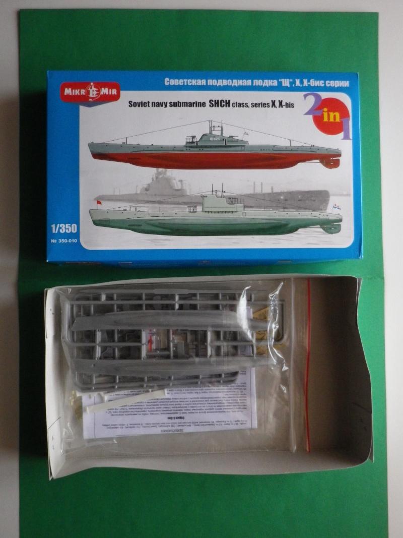 Sous marin russe classe shchuka (brochet) série X,X- bis Imgp2735