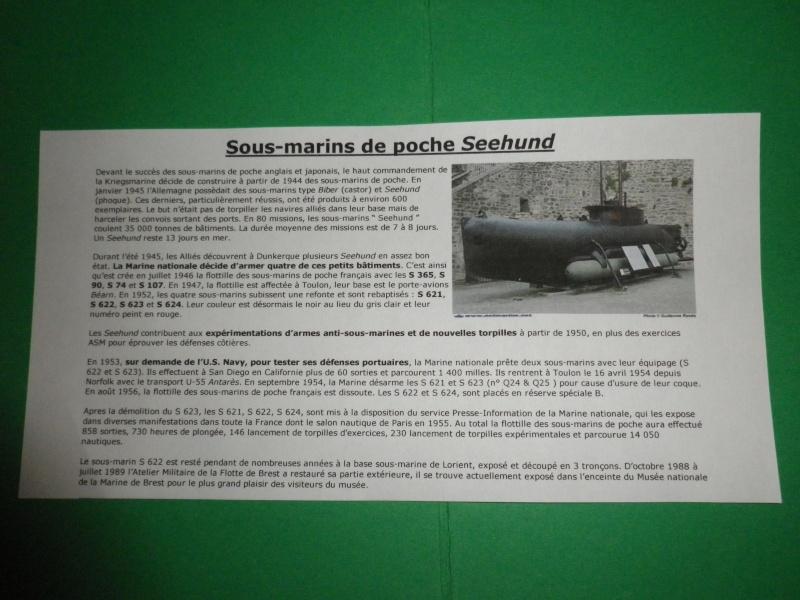 Seehund à la française (1952-1956) Sous marin de poche  Imgp2814