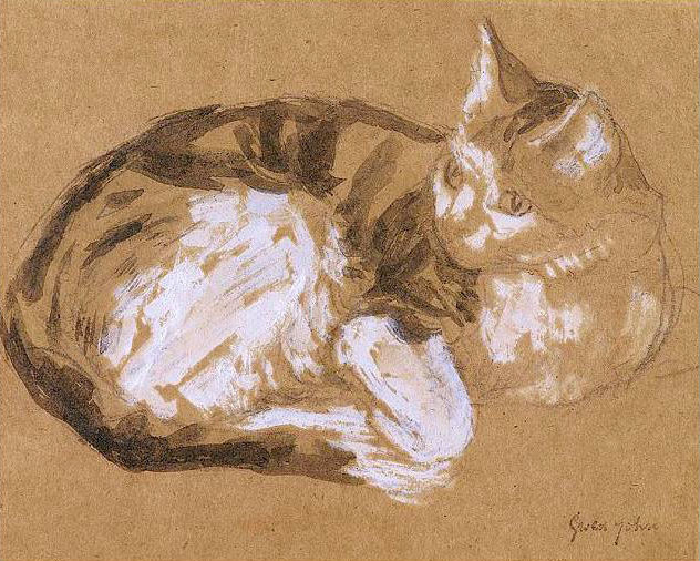 Gwen John Cats_610