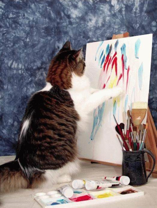 Les chats peintres G64ksj10