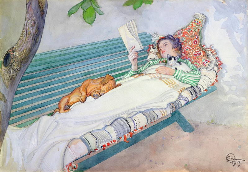 Carl Larsson Woman-10