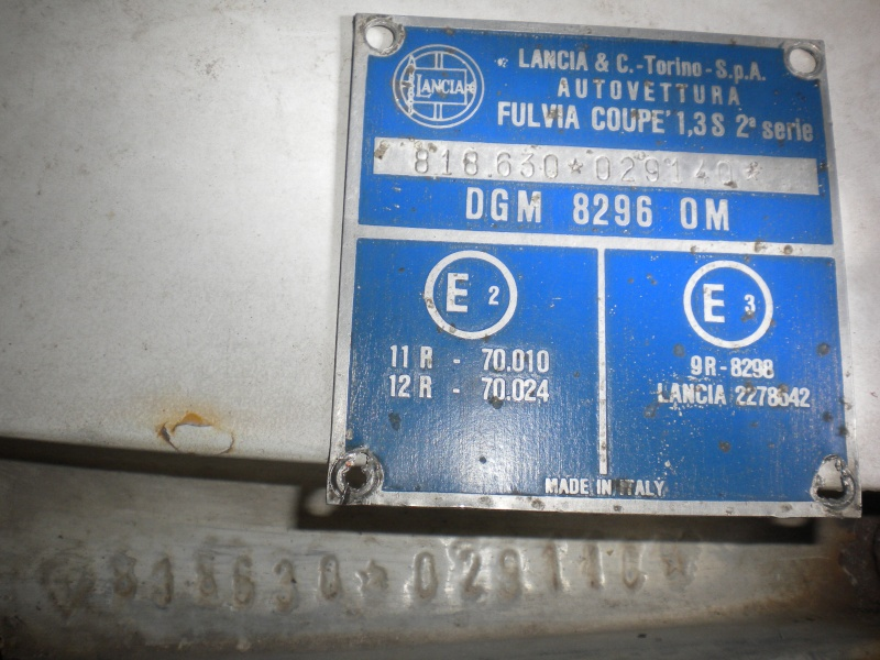 Fulvia 1.3S Rallye ==- Valutazione -== Dscn5812