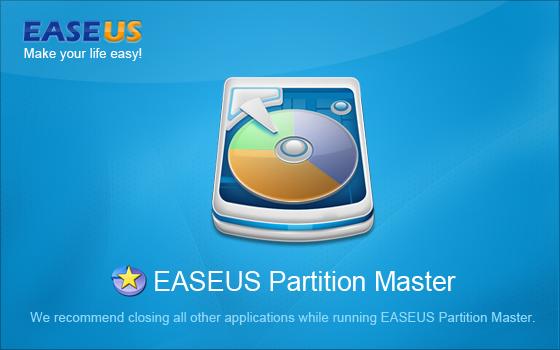 Phân vùng ổ đĩa EaseUS Partition Master 20120310