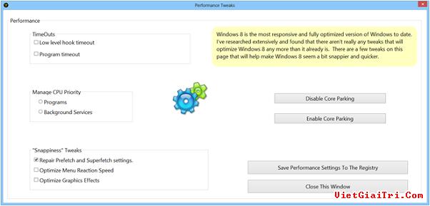 8Smoker Pro mang hàng tấn công cụ tối ưu hiệu năng cho Windows 8 8smoke12