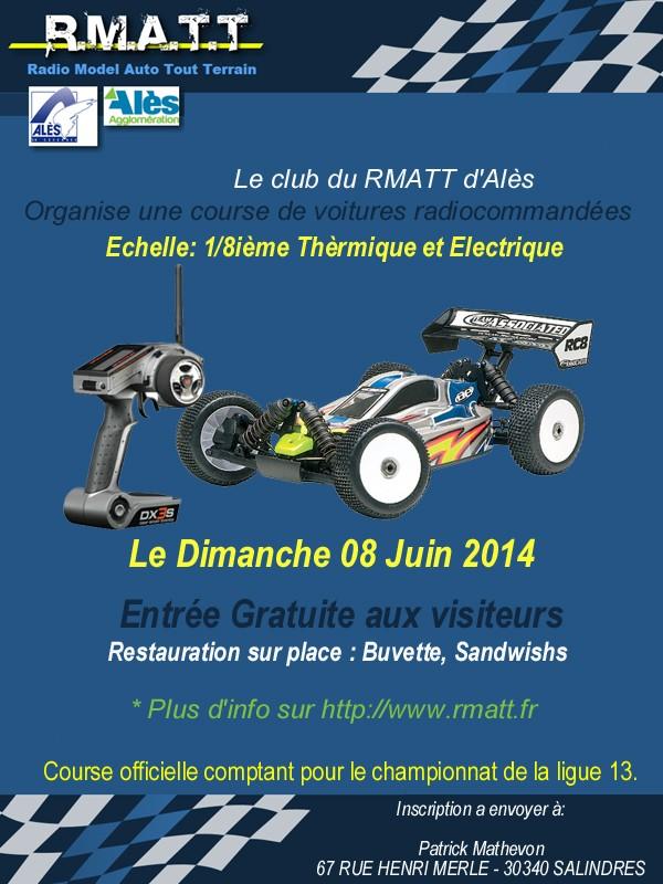 Course de ligue 13 à ALES ( RMATT ) le 08/06/2014. Course11
