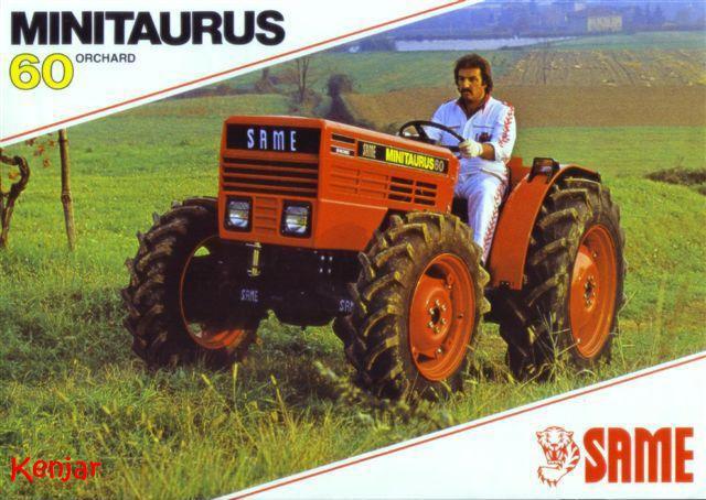 Petits tracteurs 4 roues motrices Minita10