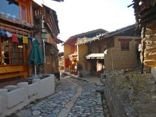 Shangri-La, ville tibétaine mythique du Yunnan, a été ravagée par le feu le 11 janvier 2014 Chine213