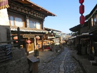 Shangri-La, ville tibétaine mythique du Yunnan, a été ravagée par le feu le 11 janvier 2014 Chine214