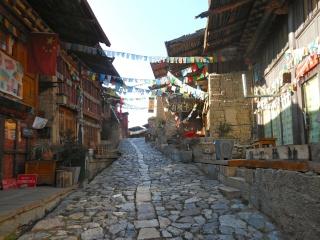 Shangri-La, ville tibétaine mythique du Yunnan, a été ravagée par le feu le 11 janvier 2014 Chine215