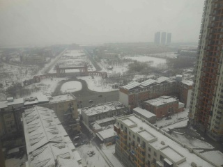 Mars 2013 en Chine (5) : La pollution  atmosphérique des villes de Nord-Est, les services ambulants dans la rue Dscn7017