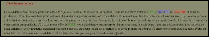 [Admis] Candidature ORBA-TEAM (oé mec !) Vote10