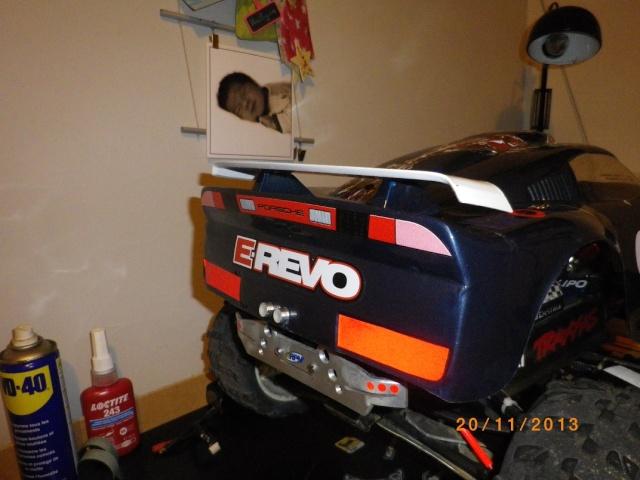 adapter caro 1/8 porche sur e-revo 130