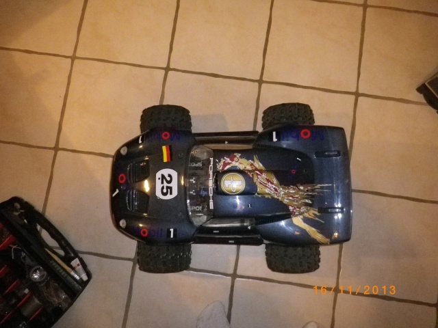 adapter caro 1/8 porche sur e-revo 224