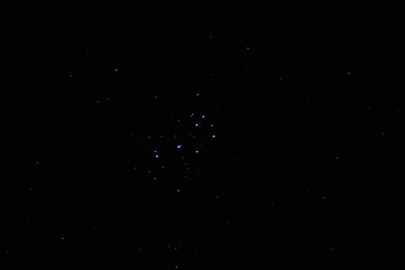 Les pléiades M45 M45_or10