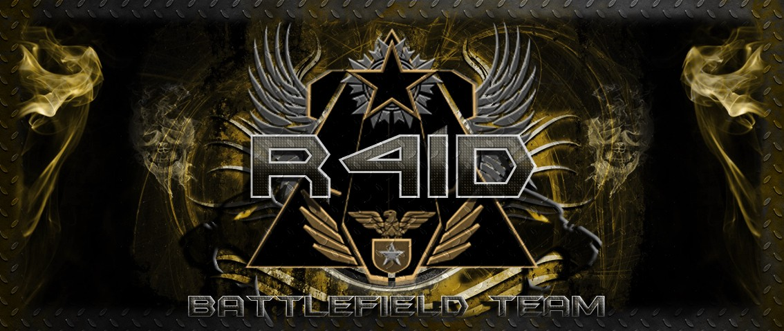 Team -=R4ID=- Battlefield