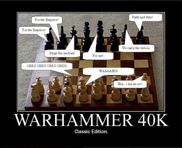 Warhammer 40k : Chess - Regicide Clipbo35